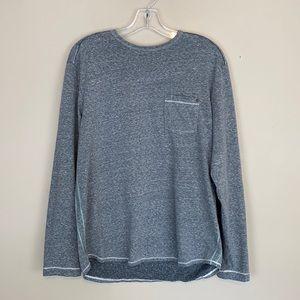 Tommy Bahama Islandzone Grey Long Sleeve Shirt SZM
